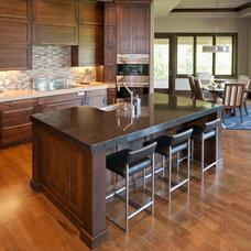 Contemporary Kitchen by Wende Woodworking LLC