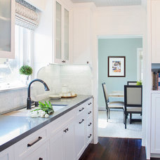 Transitional Kitchen by About:Space, LLC