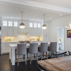 Transitional Kitchen by Charlie & Co. Design, Ltd