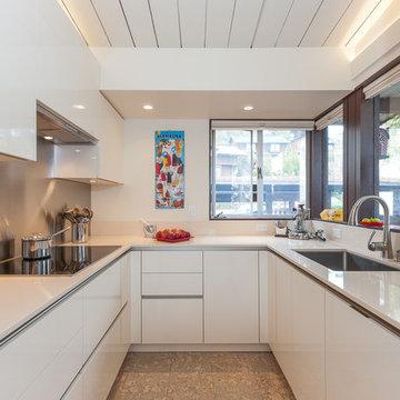 Modern Compact Kitchen