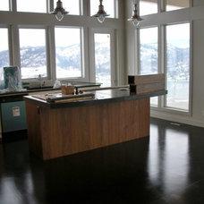 Contemporary Kitchen by MODE CONCRETE