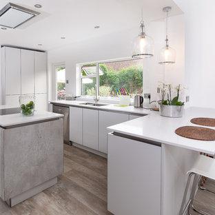 Modern concrete kitchen