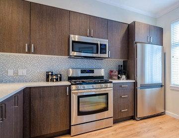 Modern Condo- Open Concept Kitchen