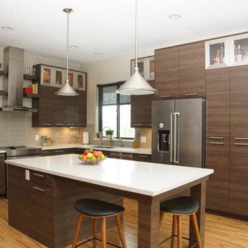 Modern Contemporary Soho Style Kitchen