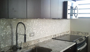 MODERN COUNTERTOP AND BACKSPLASH