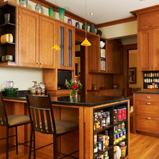 Craftsman Kitchen by Ingrained Wood Studios: The Lab