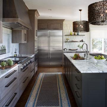 Modern Craftsman Kitchen - Rutt Cabinetry   Kitchen Distributors
