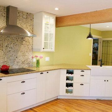 Modern craftsman style farmhouse (IKEA's Hittarp)