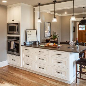 Modern Craftsman Style Kitchen Update