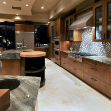 Southwestern Kitchen by Soloway Designs Inc | Architecture + Interiors