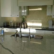 Transitional Kitchen by Hyrum McKay Bates Design, Inc.