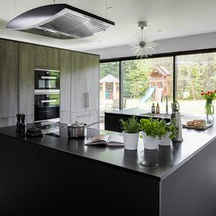 Modern Ebony Kitchen
