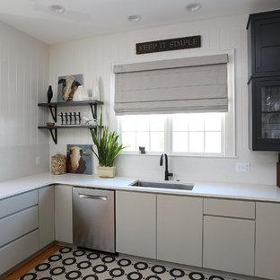 Modern, Elegant, Industrial Kitchen