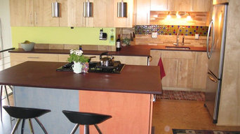 Modern Euro Styled Kitchen with Custom Coloration Requests