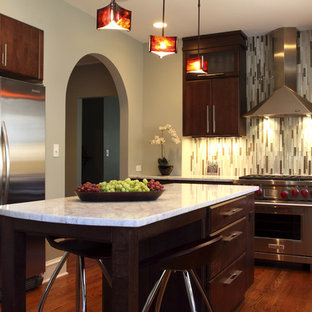 Good Vertical Backsplash Tile | Houzz