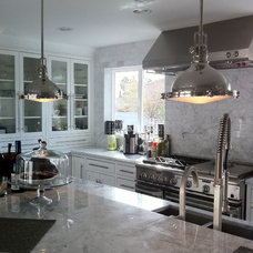 Contemporary Kitchen by Toni Sabatino