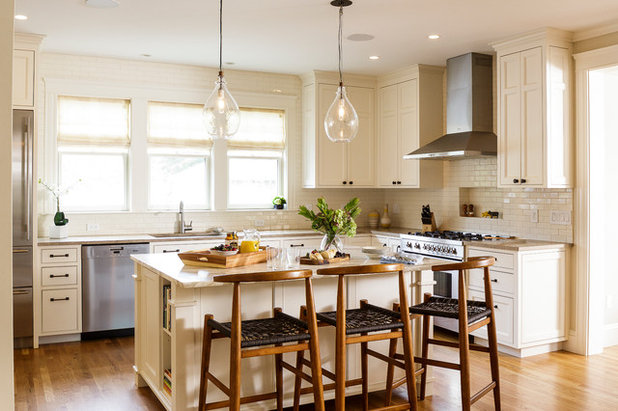Transitional Kitchen by Sophia Shibles Interiors (formerly SCS Design)
