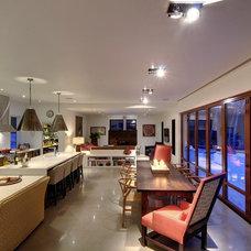 Contemporary Kitchen by Farrow Arcaro Design