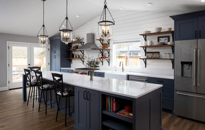 Kitchen of the Week: Modern Farmhouse Style Uncorked