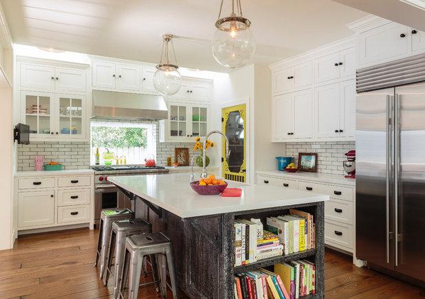 Farmhouse Kitchen by Alison Kandler Interior Design