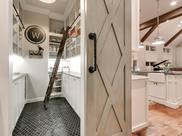 Farmhouse Kitchen by Chad Hemphill Construction