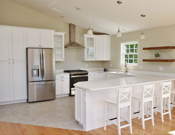Modern Farmhouse Inspired Kitchen. Haas Lifestyle Collection