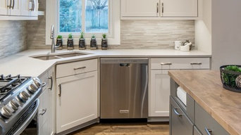 Modern Farmhouse Kitchen and Family Room Update