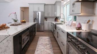 Modern Farmhouse Kitchen in Wellington Florida