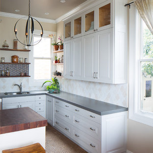 Quartz Countertop Modern Kitchen Photos | Houzz