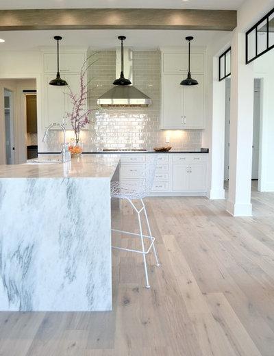 Farmhouse Kitchen by MAWR Design