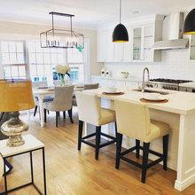 Modern Farmhouse Style Home - Landhausstil - Badezimmer ...