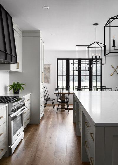 Farmhouse Kitchen by The Wood Studio
