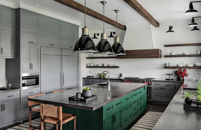Farmhouse Kitchen by Crisp Architects