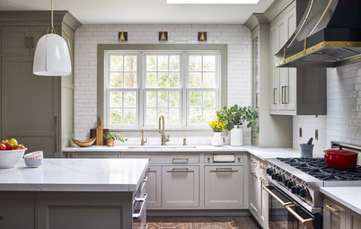 Kitchen of the Week: Modern Farmhouse With an Open Look