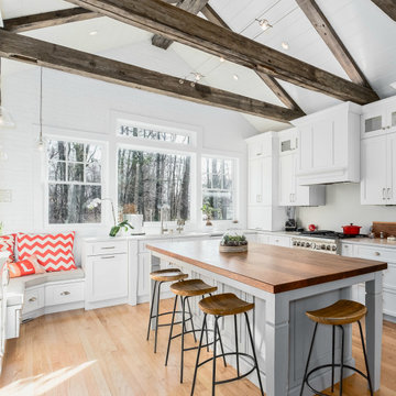 Modern Farmhouse with Rustic Flair