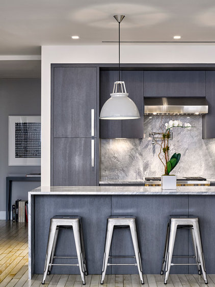 Contemporary Kitchen by Meshberg Group