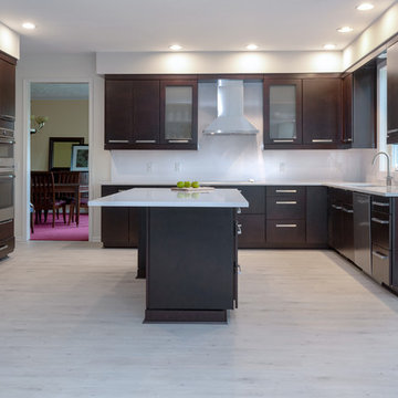 Modern Formal high contrast kitchen design