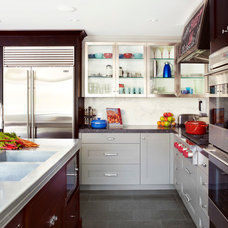 Eclectic Kitchen by Anne Bancroft Interiors