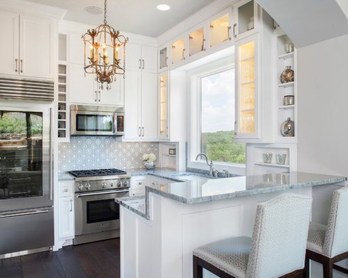 Small U Shaped Kitchen Design Ideas Amp Remodel Pictures Houzz
