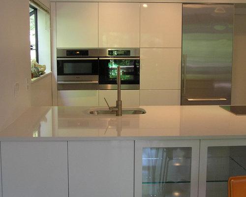Modern Kitchen Gloss White