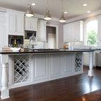 Modern Gourmet Kitchen - Traditional - Kitchen - Atlanta - by Beauti-Faux Interiors