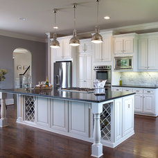 Traditional Kitchen by Beauti-Faux Finishes