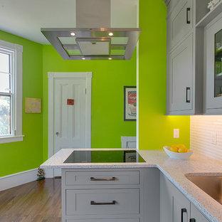 Modern Grey Kitchen Remodel