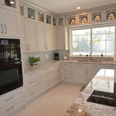 Good Temple Terrace, FL. Modern Grey Kitchen
