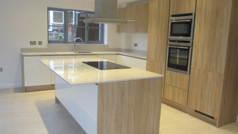 Modern Handleless Kitchen