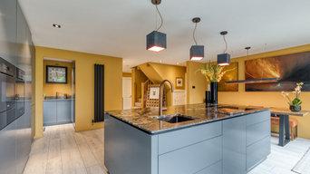 Modern Handless Kitchen in Walkern