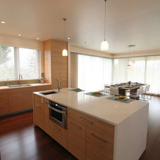Modern Kitchen by Wildco Construction Inc