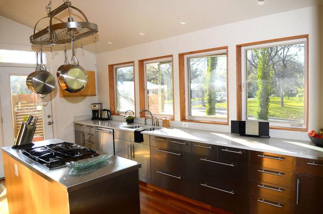Contemporary Kitchen by Kara Mosher