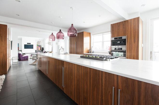 Contemporary Kitchen by Becki Peckham