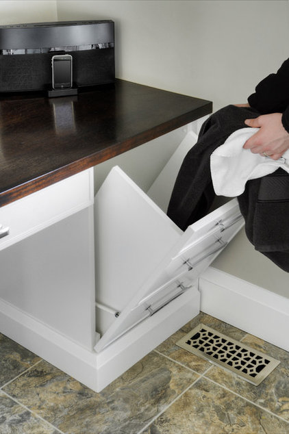 Practical and stylish design and storage ideas for your for Laundry chute design